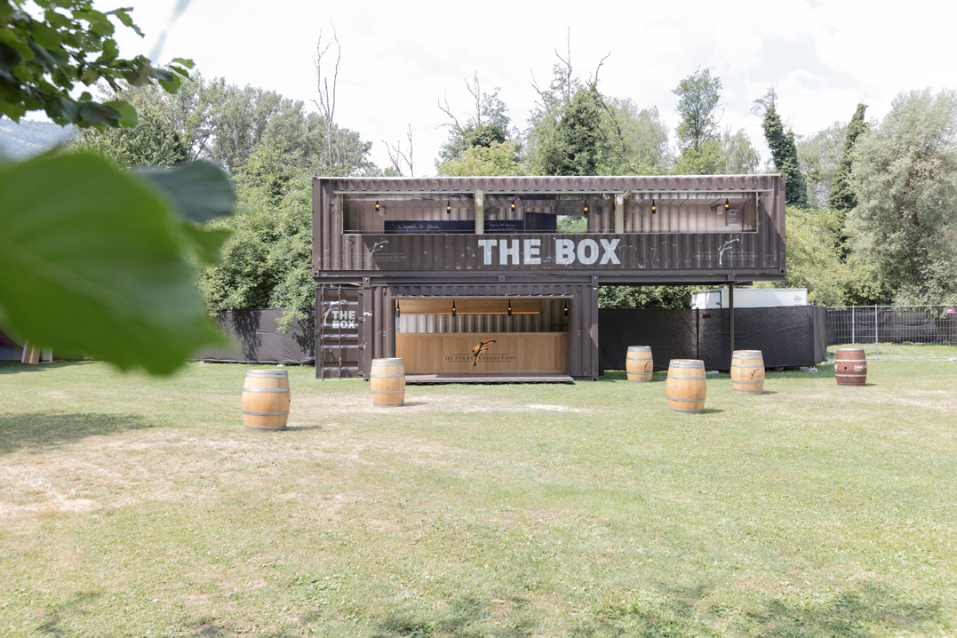 the box, mobile vinothek