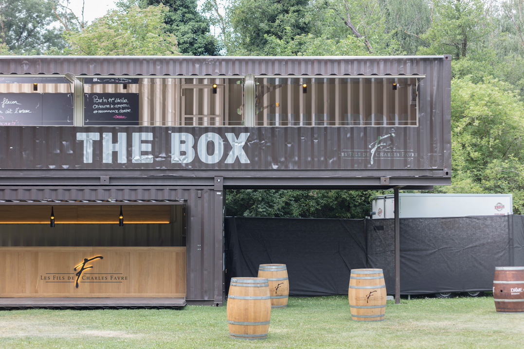 the box, vinothèque mobile