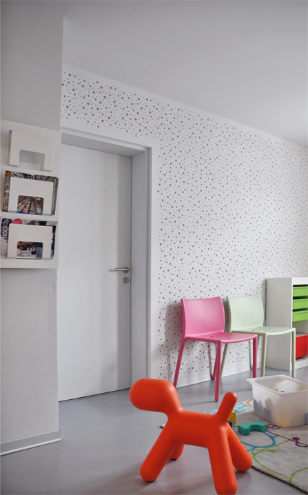 paediatric consulting rooms, sion, conversion