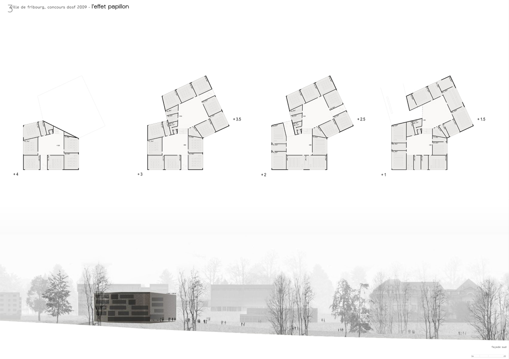 german-language high school, fribourg, competition entry