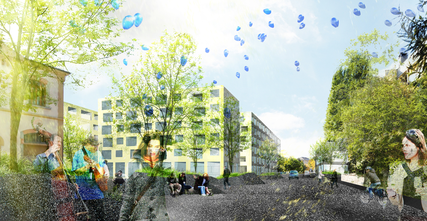 la matze apartments, sion, competition entry