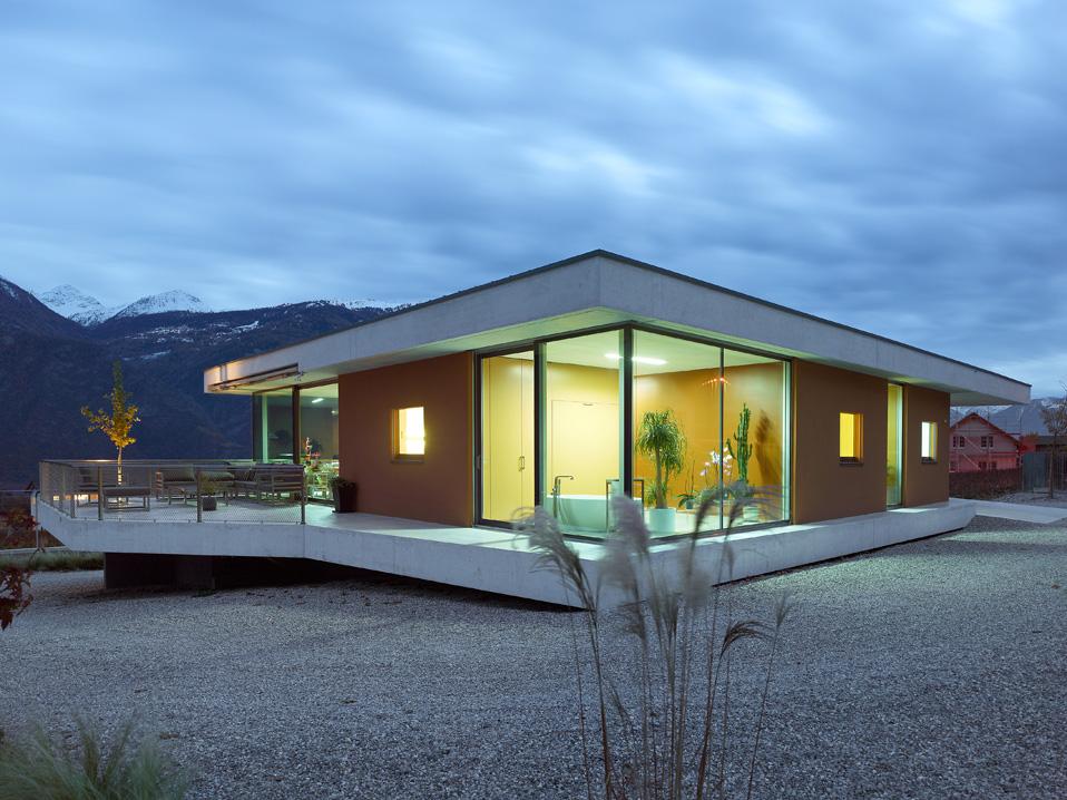 magliocco house chamoson savioz fabrizzi architectes sion - Slab Home Designs