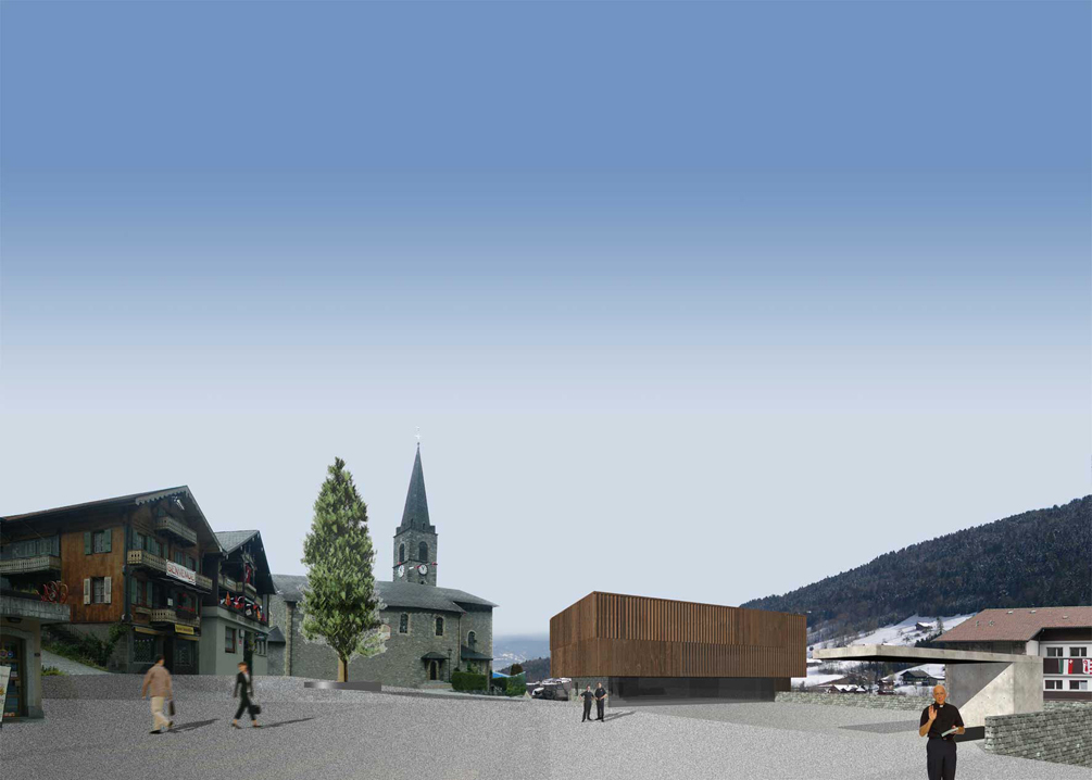 town square, troistorrents, competition, 2nd price