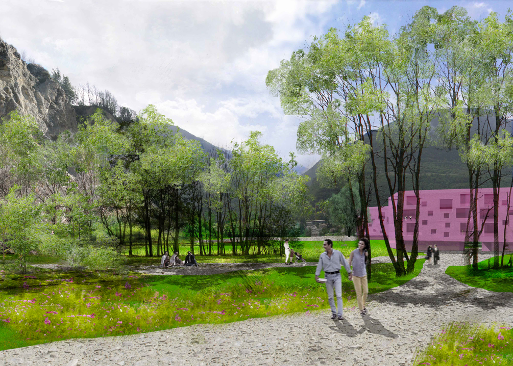 alcan district planning, sierre, competition