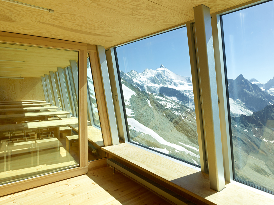 new tracuit mountain hut, zinal
